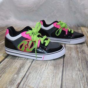 Heelys Pink & Green Skate Shoe size 5